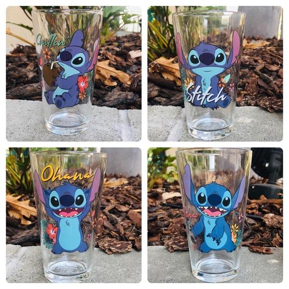 Boxed Disney LILO & STITCH CUPS (Glassware)